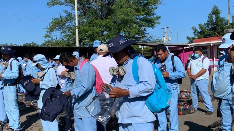 Refuerzan protección sanitaria a brigadas de fumigación Managua. Radio La Primerísima
