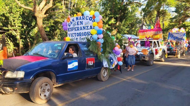 Municipios de Carazo realizan carnaval Managua. Por Manuel Aguilar/Radio La Primerísima