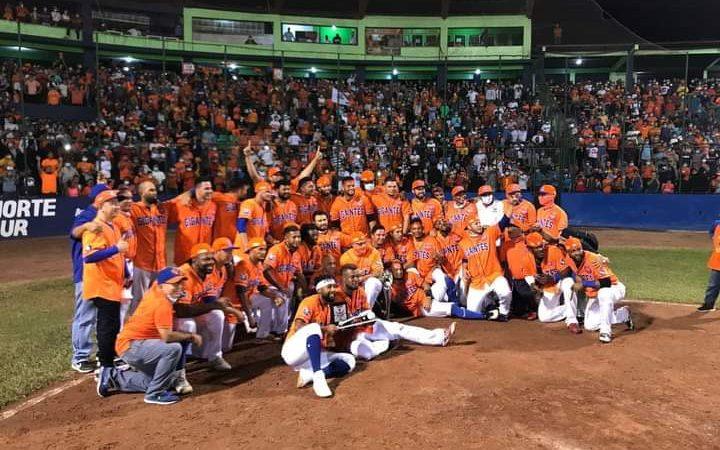 Gigantes de Rivas ganan el campeonato de la pelota profesional Managua. Por Jaime Mejía/Radio La Primerísima