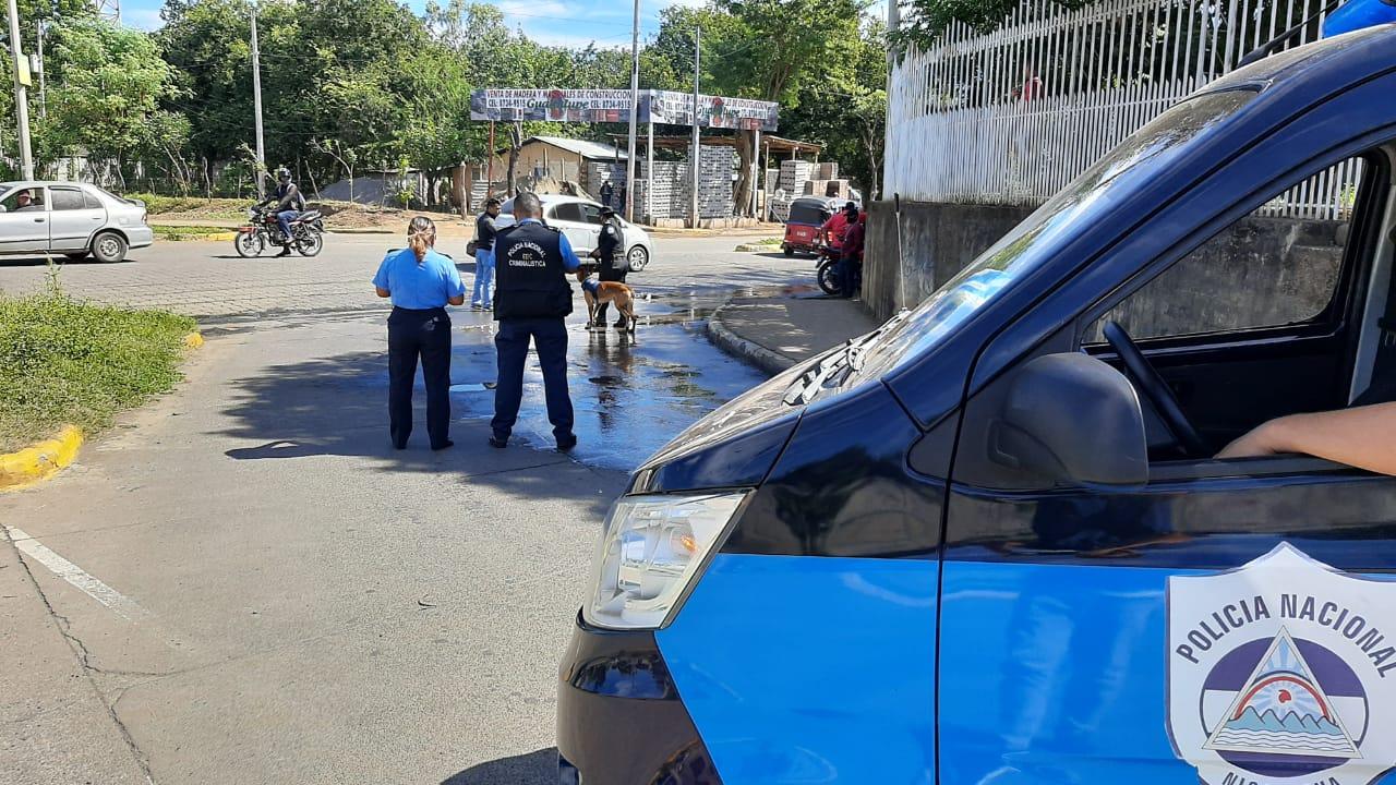 13, 591 allanamientos en expendios de droga fueron ejecutados en 2020 Managua. Por Jerson Dumas/Radio La Primerísima