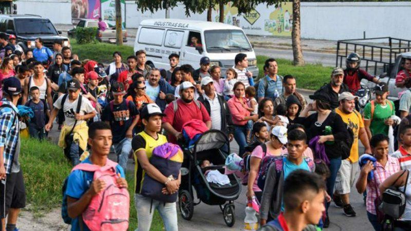 Detienen en Guatemala a migrantes salvadoreños y hondureños Ciudad Guatemala. Agencia EFE