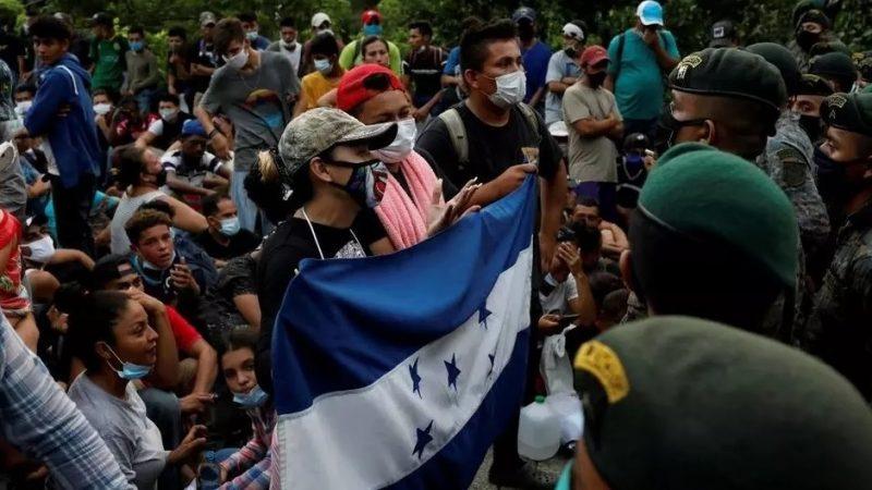 Guatemala autoriza el uso de fuerza contra los migrantes Ciudad Guatemala. Agencias