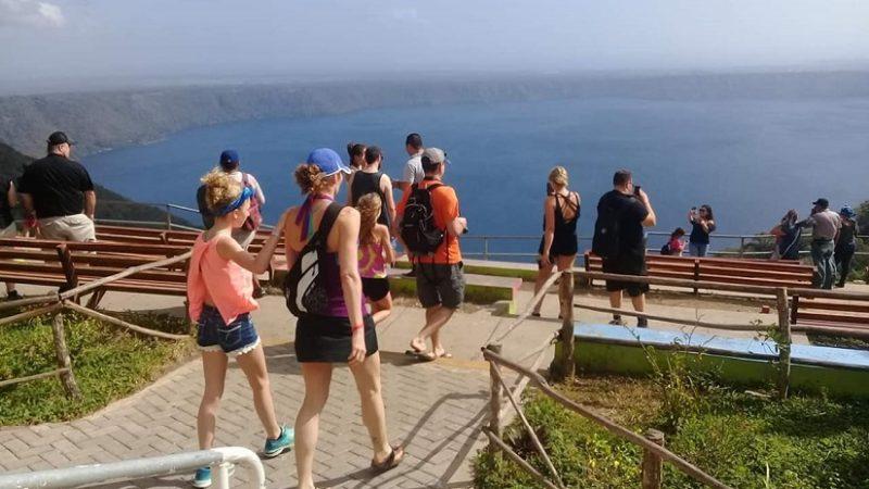 Mirador de Catarina, preferencia de miles de visitantes Managua. Radio La Primerísima