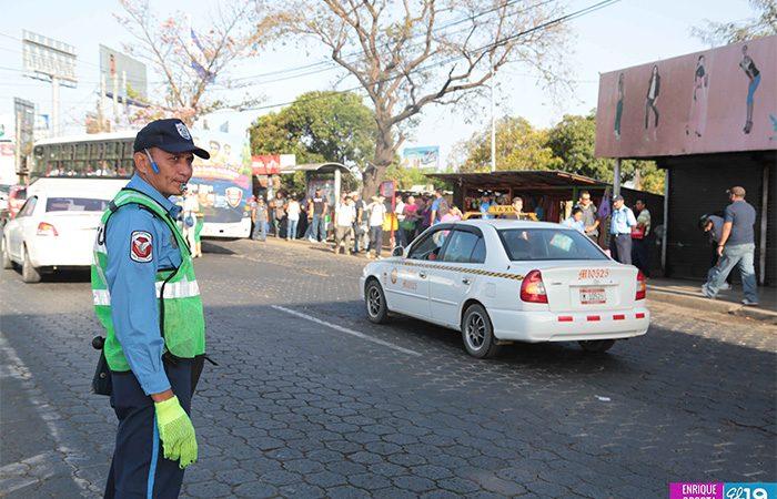 Policía sigue desplegada para garantizar seguridad Managua. Radio La Primerísima