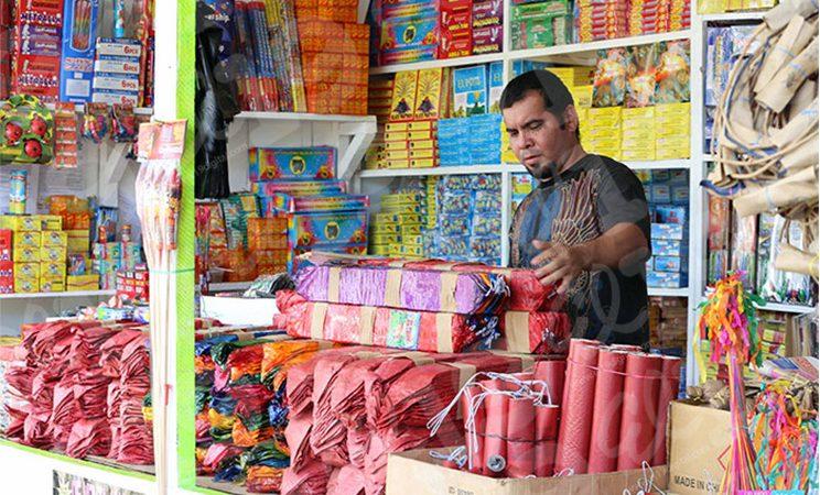 Destacan venta de pólvora en cierre de año Managua. Radio La Primerísima