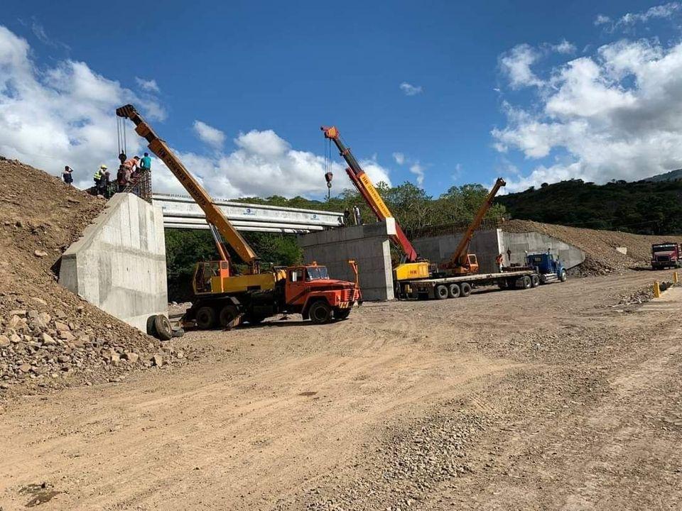 Avanza construcción de puentes vehiculares en San Juan de Limay Radio La Primerísima