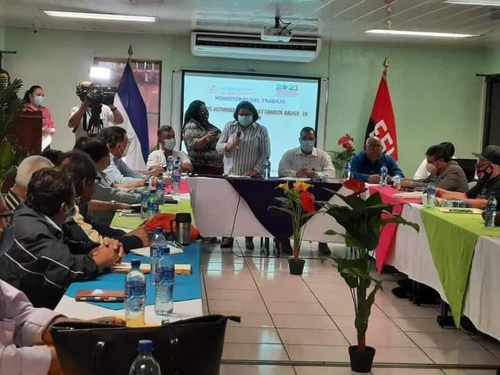 Instalan comisión tripartita para negociar salario mínimo Managua. Radio La Primerísima