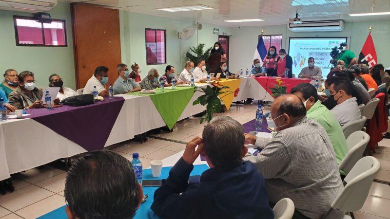 Patrones ausentes en negociación del salario mínimo Managua. Radio La Primerísima