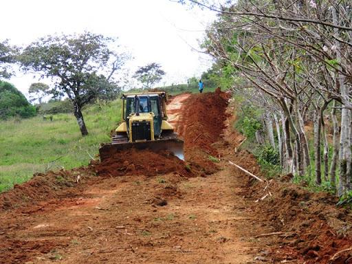Inicia construcción de carretera productiva en Siuna Managua. Radio La Primerísima