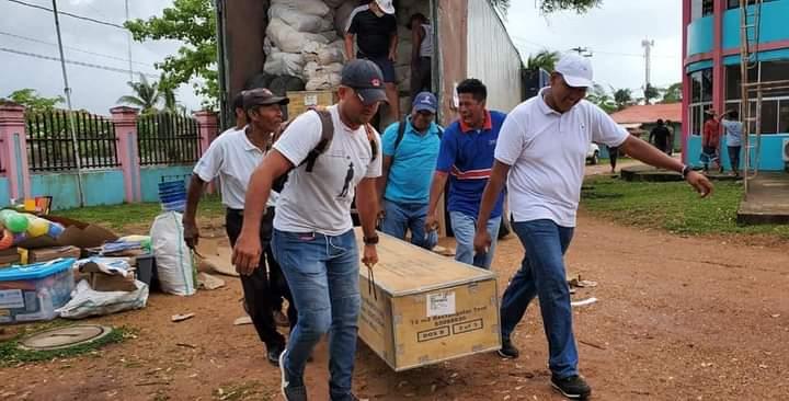 UNICEF dona aulas de clase portátiles para garantizar estudios a costeños Managua. Radio La Primerísima