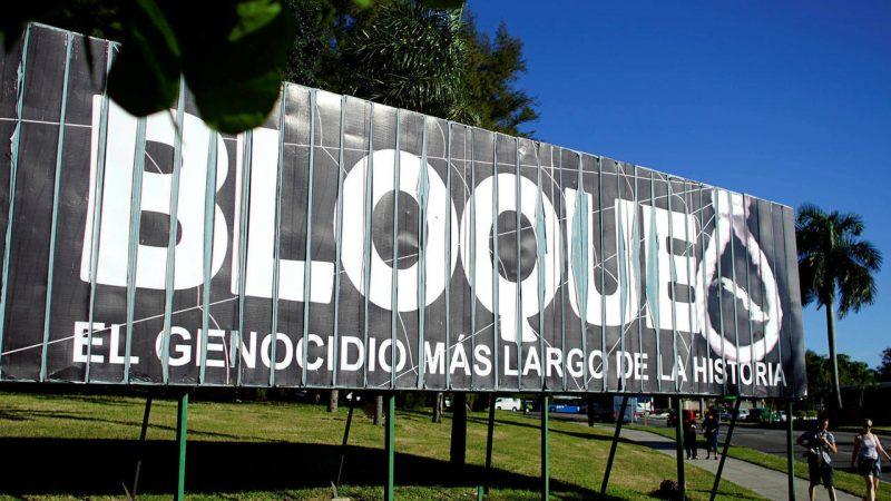El bloqueo es un crimen de lesa humanidad Por Fernando Buen Abad Domínguez | Rebelión
