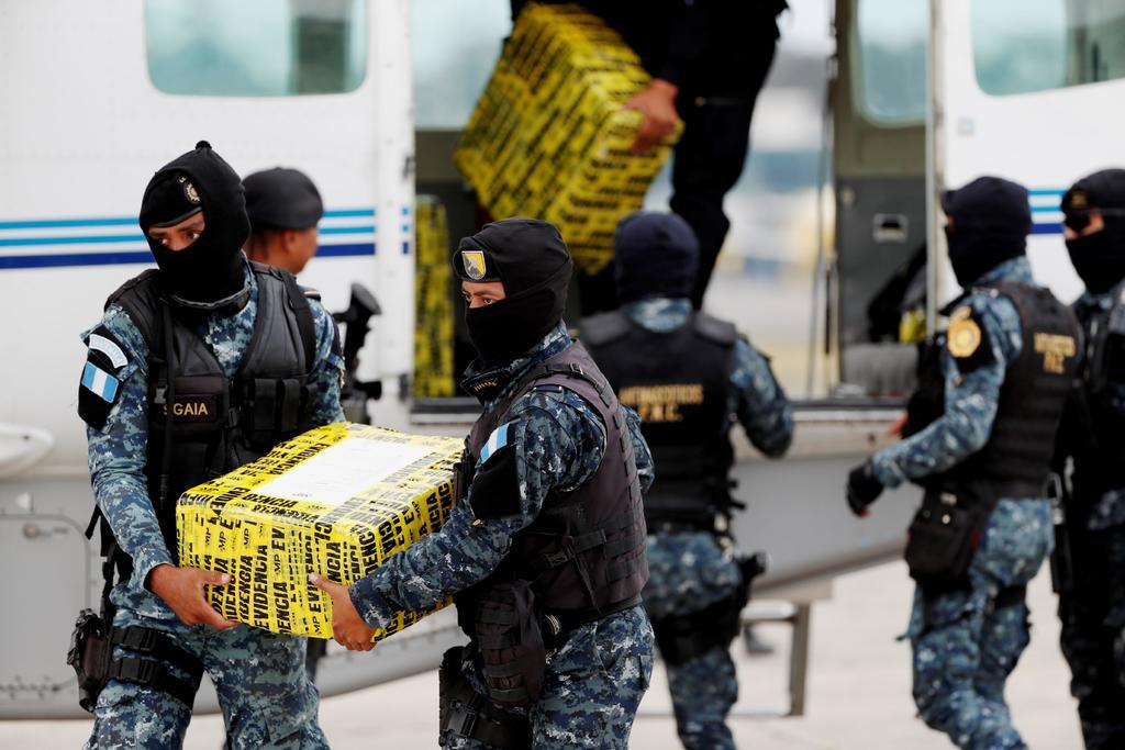 Guatemala incauta 142 paquetes de cocaína en frontera con México Guatemala. EFE
