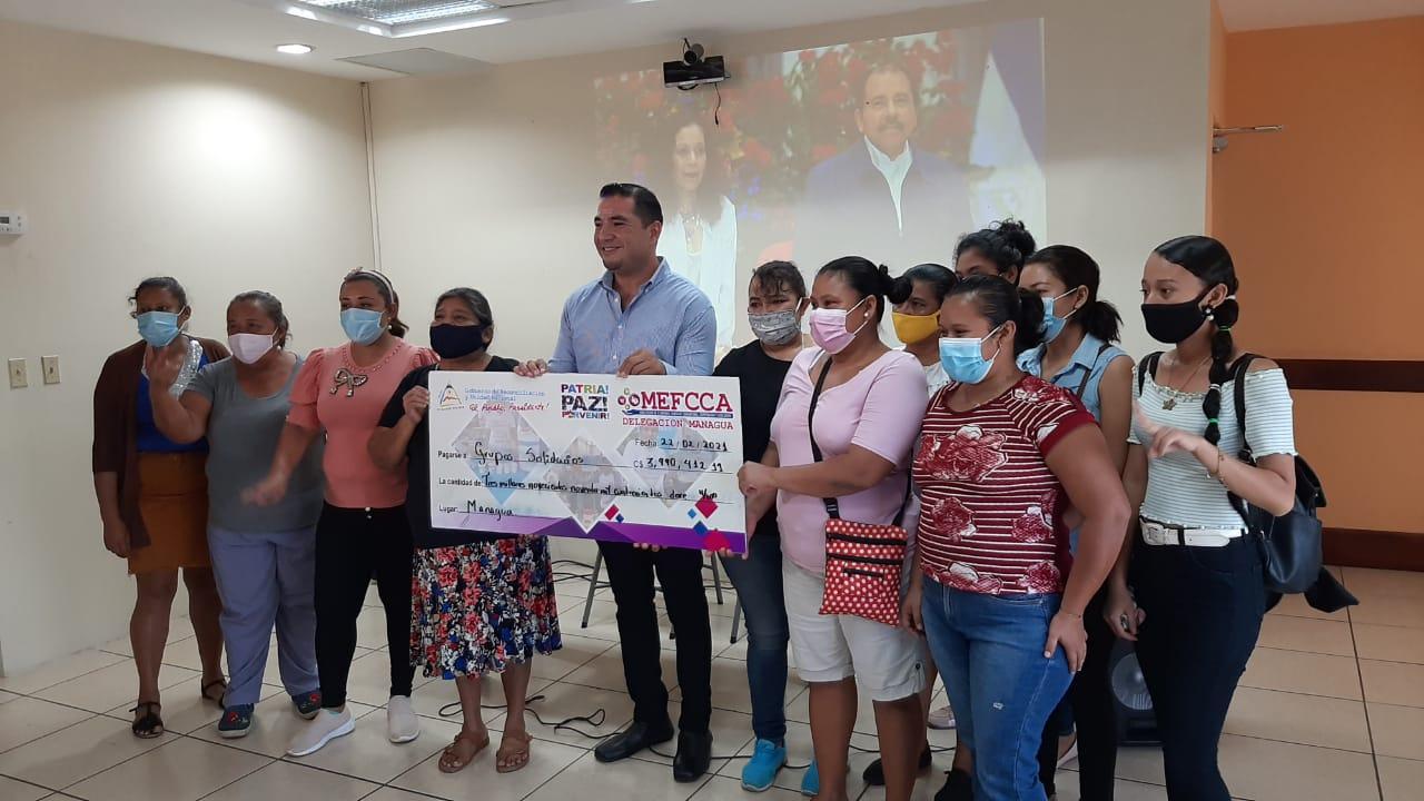 Mefcca desembolsa 400 mil córdobas en Managua Managua. Jaime Mejía/ La Primerísima
