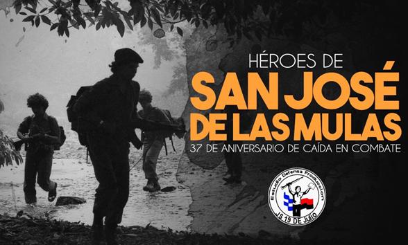 San José de las Mulas: «¡que se rinda tu madre! ¡Viva la Juventud Sandinista!» Por Manuel S. Espinoza