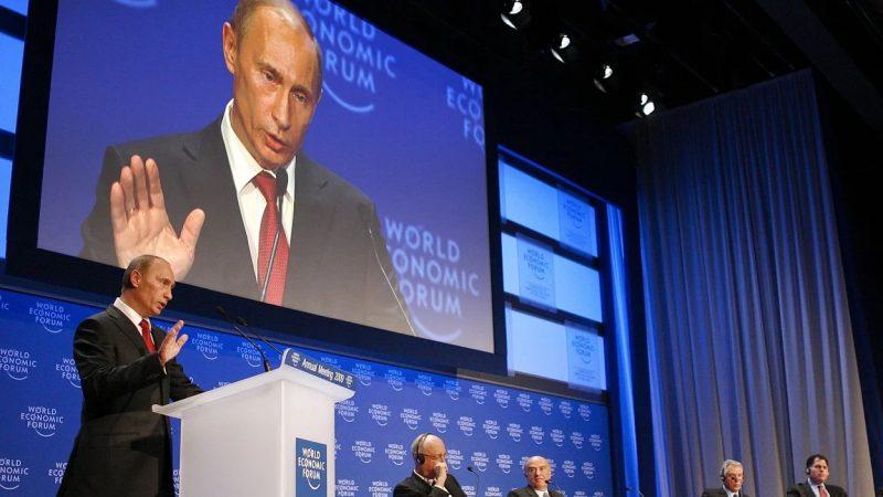 Las advertencias de Putin sobre los planes del Foro de Davos Moscú. Agencias