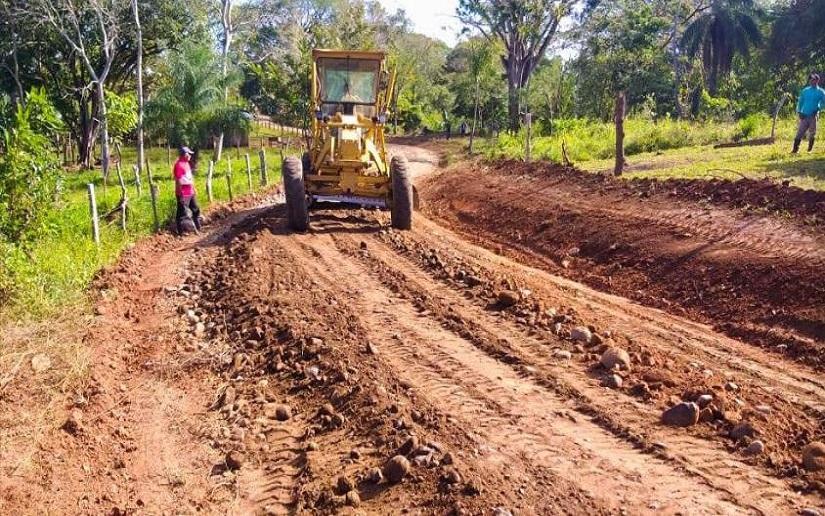 Alcaldías siguen mejorando caminos productivos Managua. Radio La Primerísima