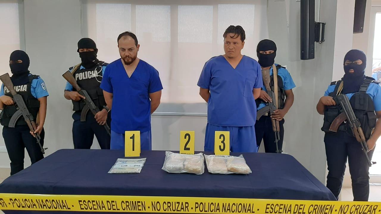 Capturan a sujetos con fuerte suma de dinero y cocaína Managua. Jerson Dumas/ La Primerísima