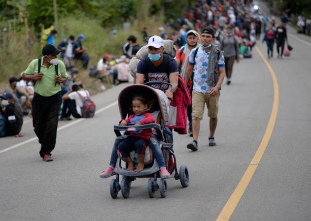 Guatemala anuncia plan de contingencia para futuras caravanas de migrantes Agencia