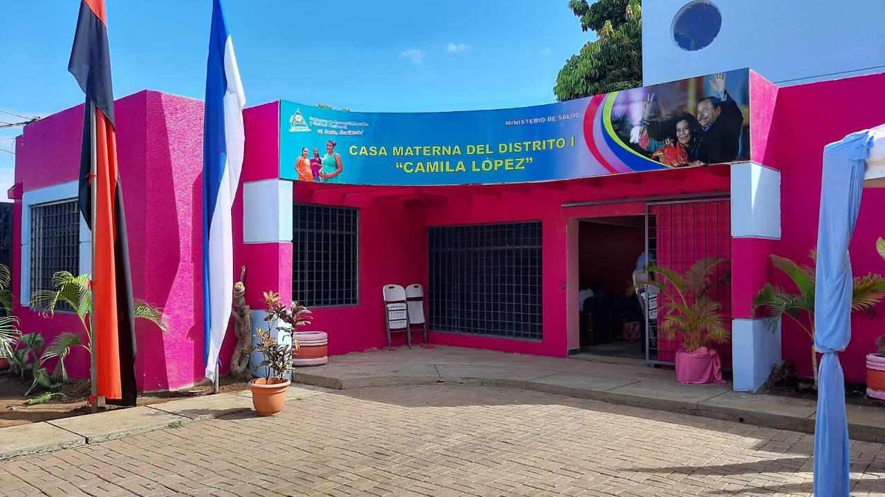 Inauguran Casa Materna en Managua Managua. Por Jerson Dumas/Radio La Primerísima