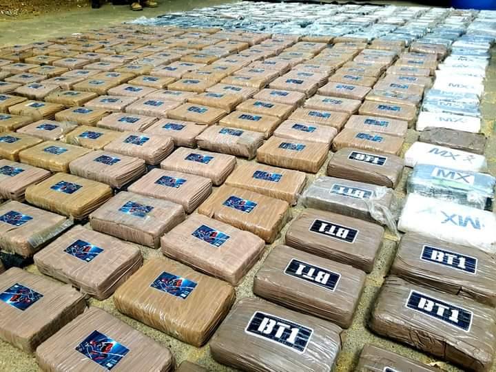 Ejército incauta 395 tacos de cocaína en Villa Nueva, Chinandega Managua. Radio La Primerísima