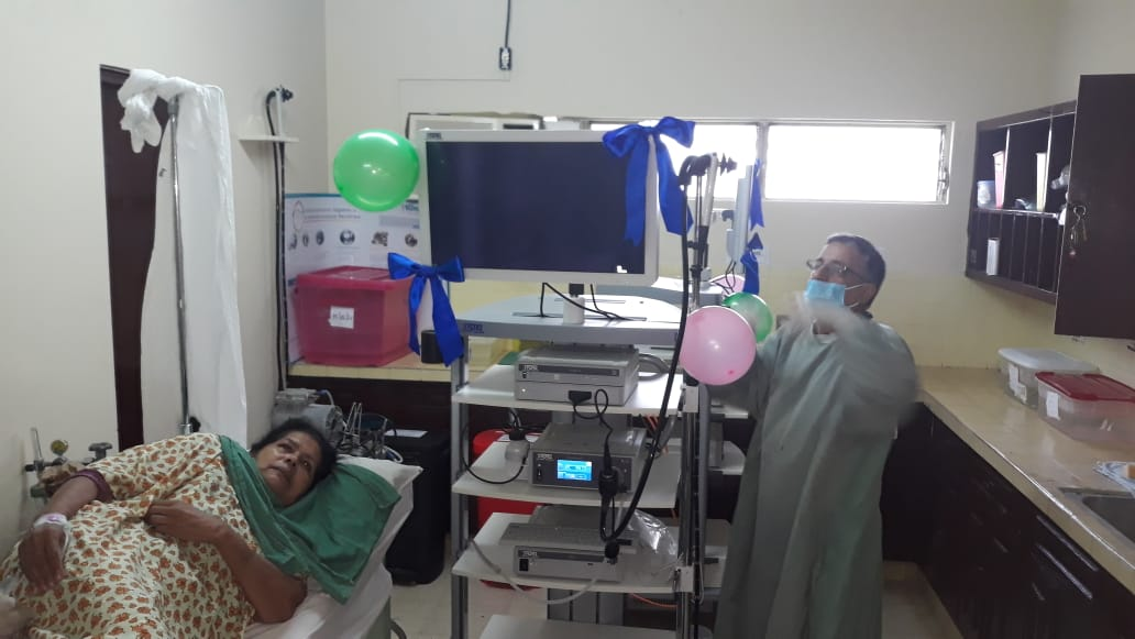 Hospital Santiago estrena moderna sala de Endoscopía Jinotepe. Por Manuel Aguilar/Radio La Primerísima