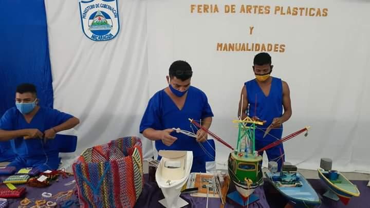 Reos de Bluefields participan en feria de emprendimientos Managua. Jaime Mejía/ La Primerísima