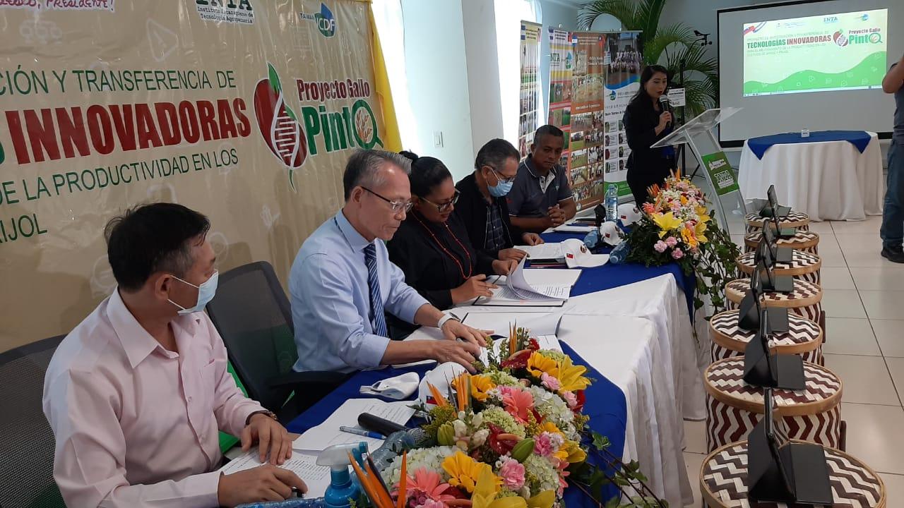 INTA y Taiwán firman convenio de cooperación Managua. Jaime Mejía/ La Primerísima