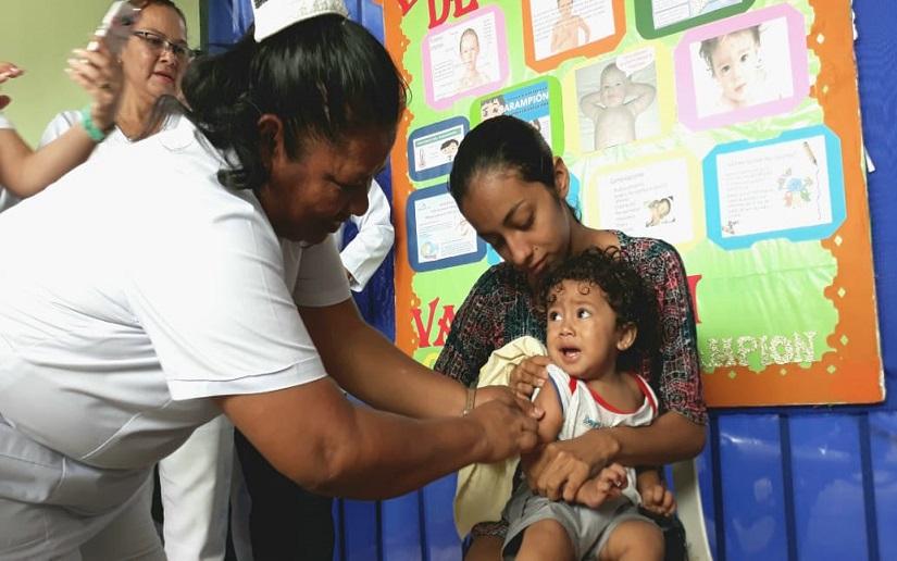 MINSA inmunizará más de un millón de niños durante vacunación Managua. Radio La Primerísima