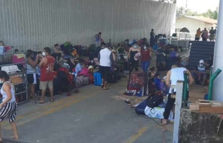 121 pinoleros varados en Panamá en ruta hacia Nicaragua Ciudad Panamá. El Siglo