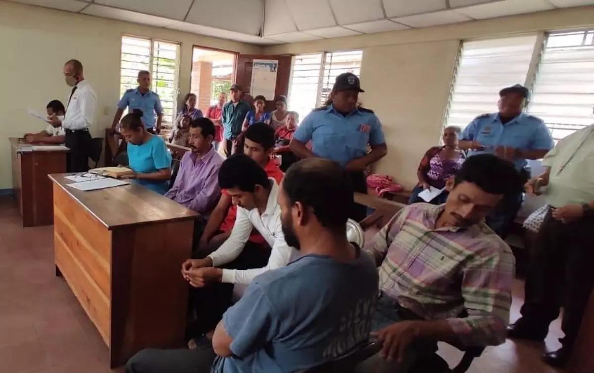 Condenan a usurpadores de tierras indígenas Managua. Jerson Dumas/ La Primerísima