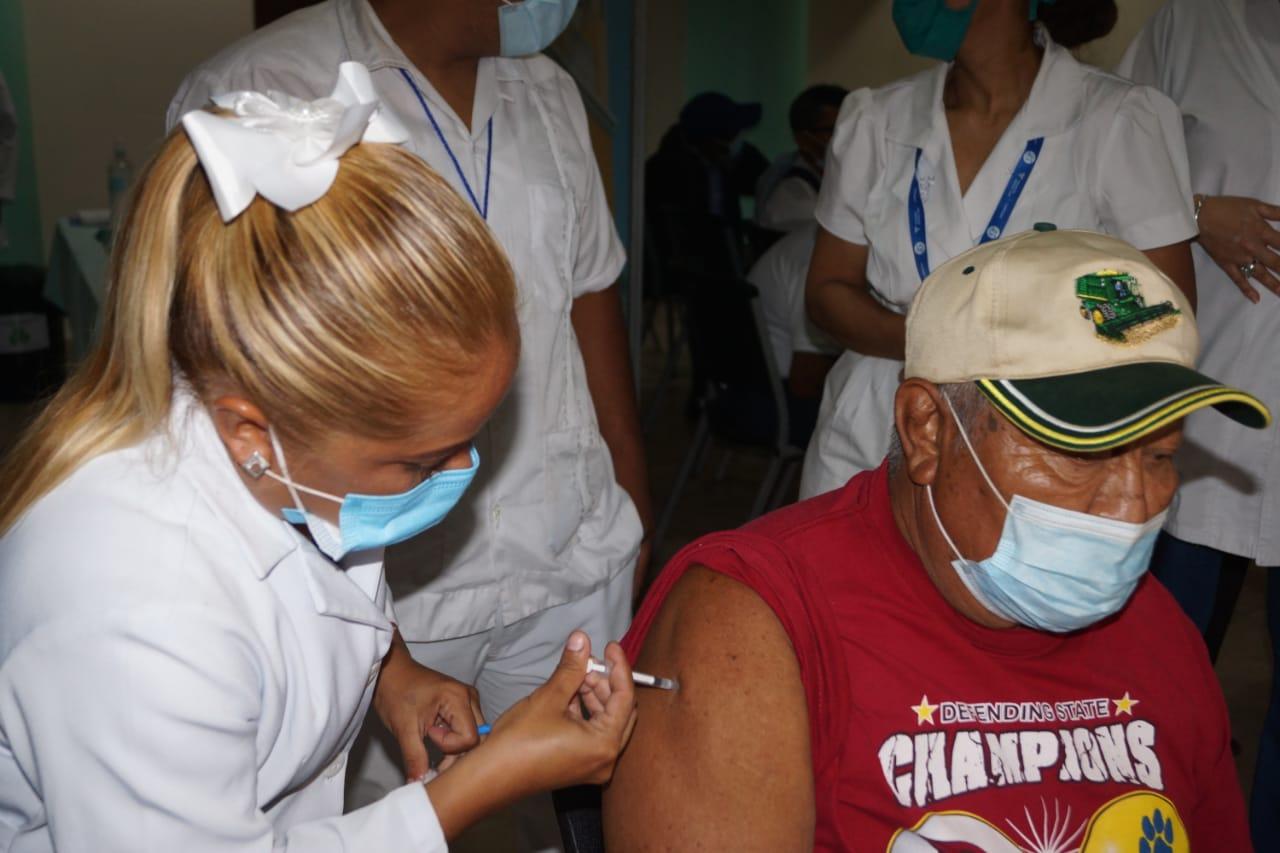 Avanza vacunación anti Covid-19 Managua. Por Libeth González/Radio La Primerísima