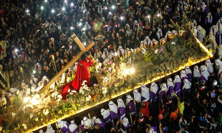 Semana Santa guatemalteca aspira a Patrimonio Cultural del mundo Guatemala. Prensa Latina