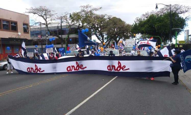 Costarricenses marchan contra proyecto Empleo Público y el FMI San José. Prensa Latina