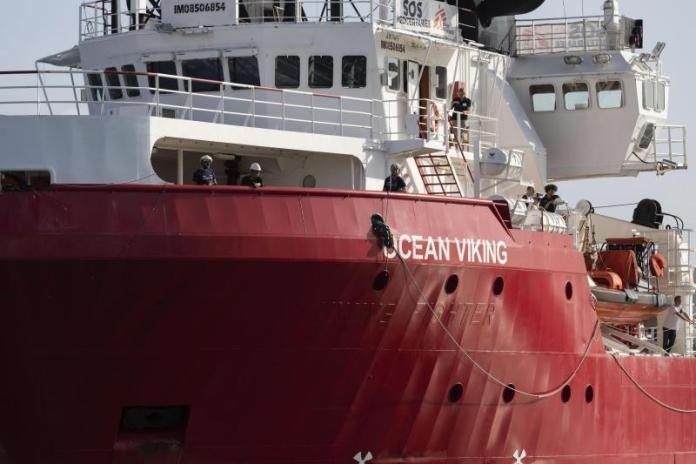 Ocean Viking rescata a migrantes en el Mediterráneo Roma. EFE