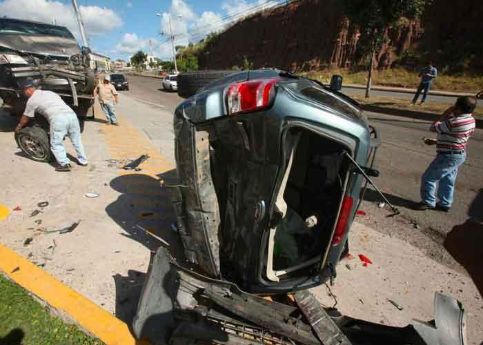 205 fallecidos en accidentes de tránsito en Honduras Agencia