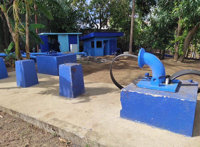 Casi finalizado nuevo pozo de agua en Managua Managua. Radio La Primerísima