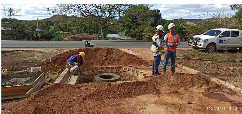 Construyen alcantarillado sanitario en Totogalpa Managua. Radio La Primerísima