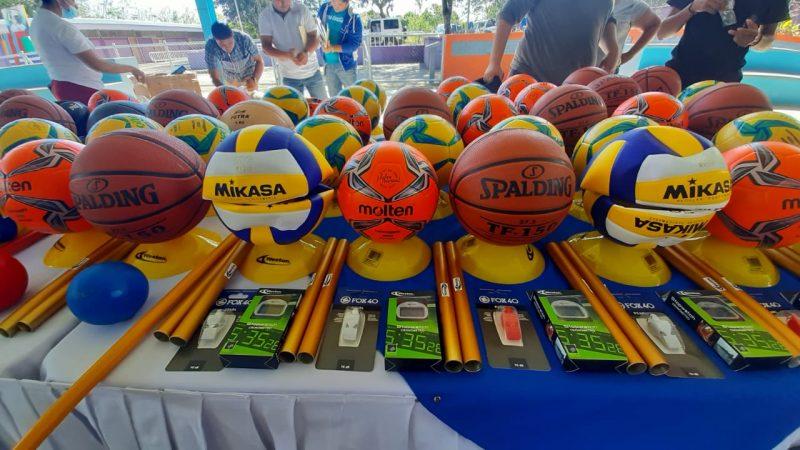 Escuelas de educación especial reciben materiales deportivos Managua. Por Douglas Midence/Radio La Primerísima