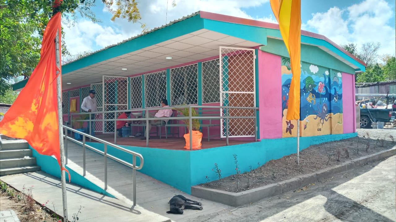 Reconstruyen Centro de Salud en La Boquita Diriamba, Carazo. Por Manuel Aguilar/Radio La Primerísima