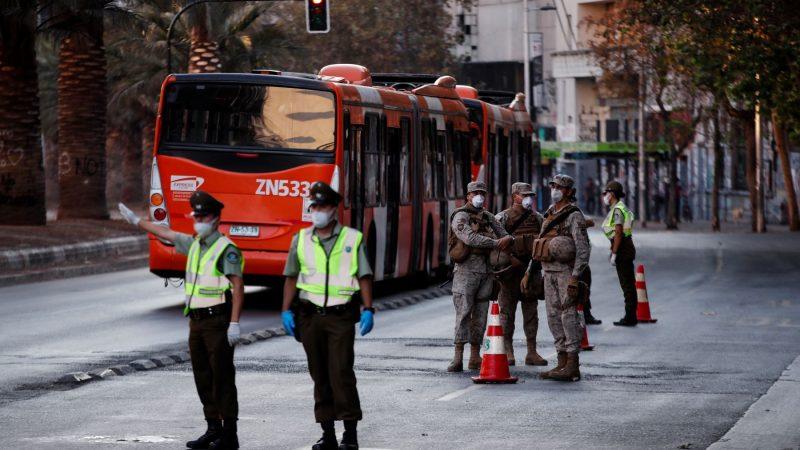 Santiago de Chile en cuarentena por Covid-19 Santiago de Chile. Prensa Latina