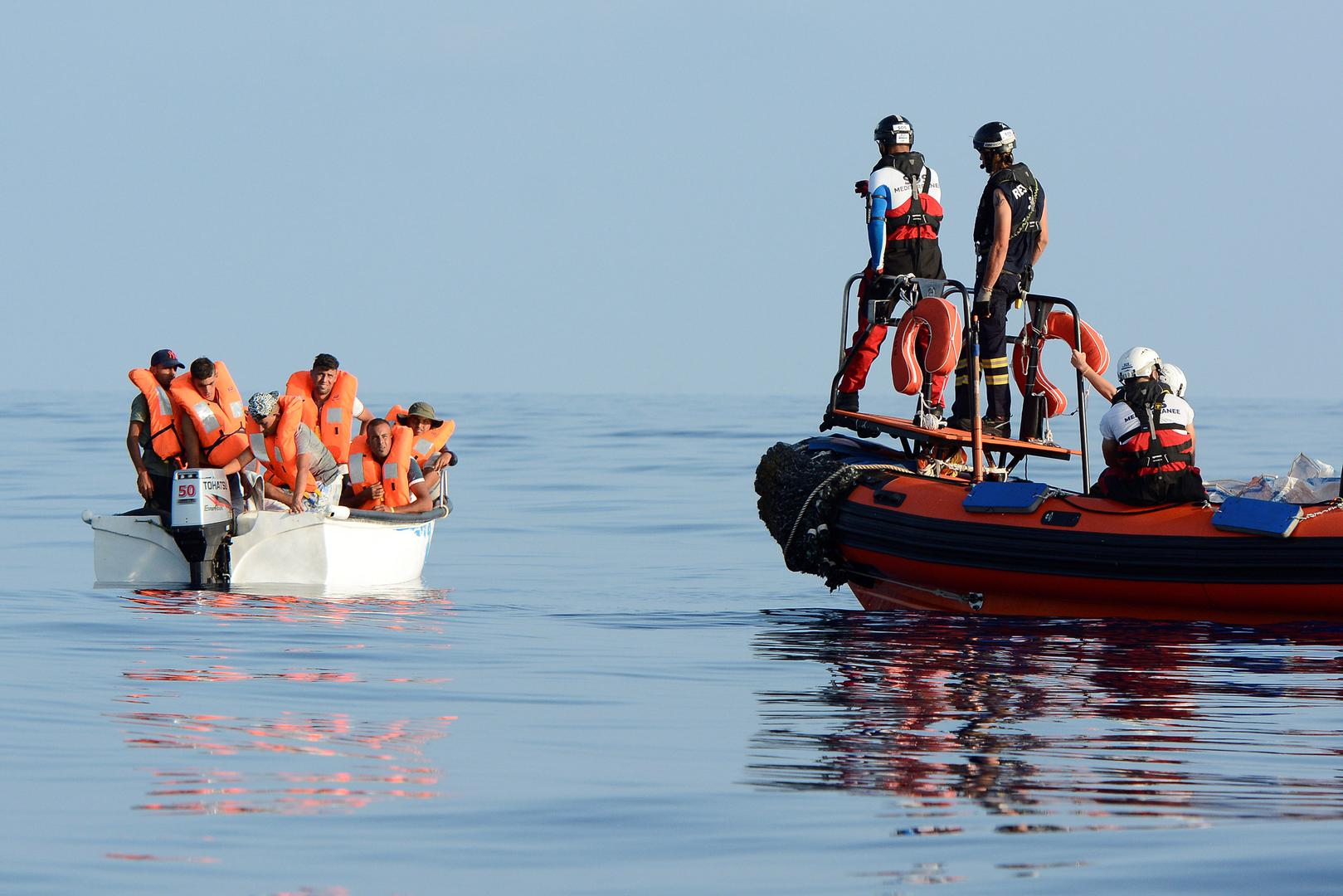 Guardacostas rescataron a 44 migrantes en mar Egeo Ankara. Prensa Latina