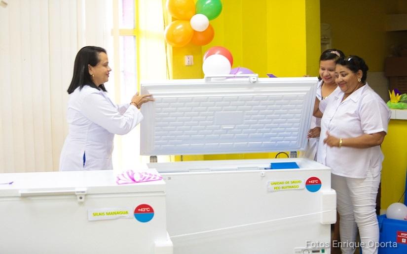 Fortalecerán cuartos fríos donde almacenan vacunas Managua. Radio La Primerísima