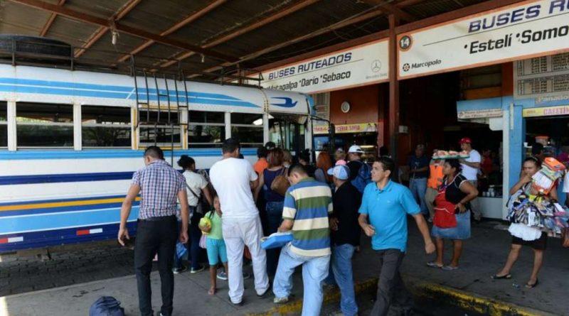 Éxodo de vacacionistas hacia norte y centro del país Managua. Por Douglas Midence/Radio La Primerísima