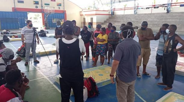 Decenas de migrantes haitianos llegaron a la provincia de Orellana Agencia
