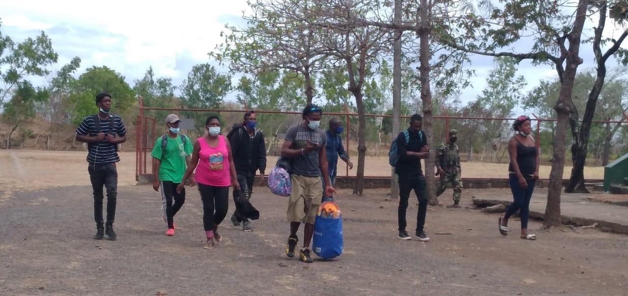 Ejército retiene 528 migrantes de distintos países Managua. Radio La Primerísima