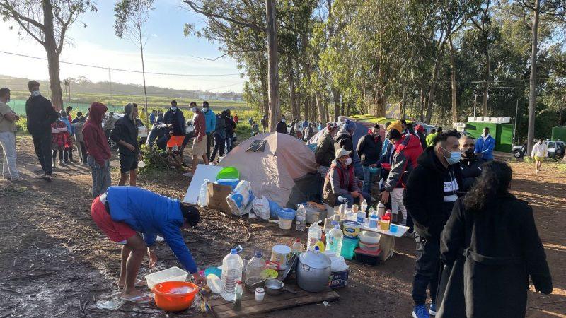 Migrantes realizan huelga de hambre en Tenerife Agencia