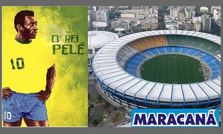 Legendario estadio Maracaná se llamará Rey Pelé Brasilia. Prensa Latina