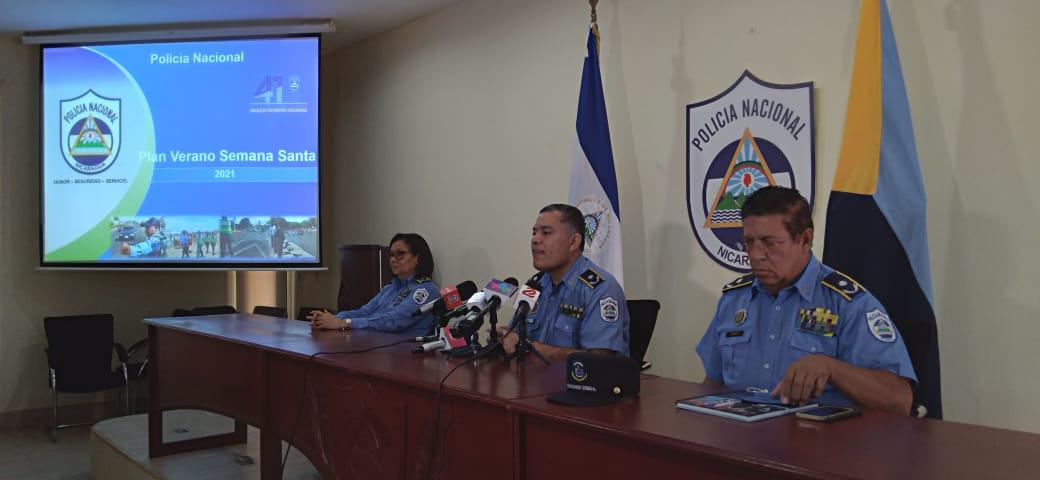 14 mil policías garantizarán seguridad en Semana Santa Managua. Por Libeth González/Radio La Primerísima