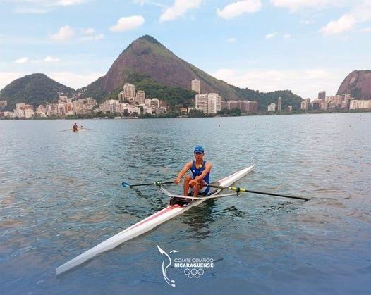 Atleta nica clasifica para olimpiadas de Tokio Managua. Radio La Primerísima
