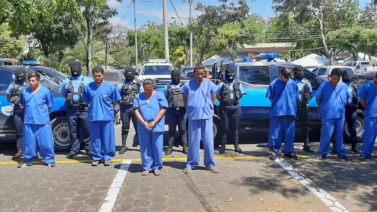 Tras las rejas 64 delincuentes de alta peligrosidad Managua. Lisbeth González/ Radio La Primerísima